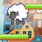 涂鸦羊儿千层跳 - 涂鸦跳重力感应游戏,陀螺仪游戏1