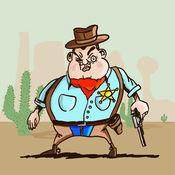 西部牛仔沙漠逃生记——独特西部牛仔枪战游戏 1