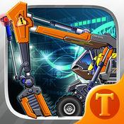 玩具机器人大战:工程挖掘机机器人