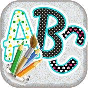 Abc 学习写: 为孩子们的教育游戏 1