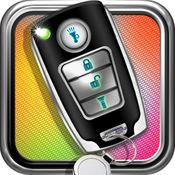 汽车钥匙模拟器 - 汽车警报器的声音