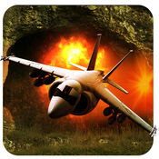 喷气式战斗机赛车 - 神奇洞穴亚军:全免费赛车游戏 1