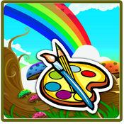 着色书(动物):着色页与学习教育游戏为孩子们免费! 1.0.0