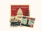 美国邮票 1.1
