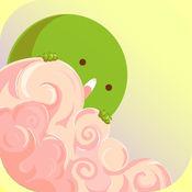 绿色球粘性墙跳