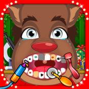 圣诞老人的 圣诞 牙医 游戏 对于 男孩 & 女孩 1