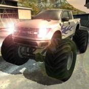 3D怪物卡车速度...