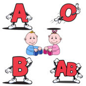 小孩血型配对 - 血型转轮三部曲之二 1