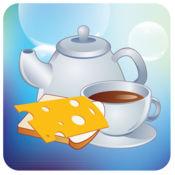 早餐 - PetraLingua® 课程将教您学习基本的 英语, 西班牙语, 法语, 德语, 中文 和 俄语