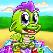 龙 宝石探秘 冒险 和 寻宝 在十小 点击游戏 1