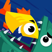 小鱼海底寻找宝藏