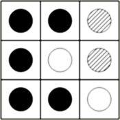 Fukumaka小棋:赢得所有比赛的黑白点