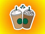 100杯咖啡,你的国王的生命 贴纸 1