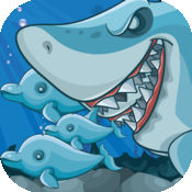 拯救海豚 - 鲨鱼攻击行动短跑挑战 免费
