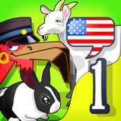 """儿童英语 1- Mingoville中的""""动物ABC"""" - 益智游戏立志于"""