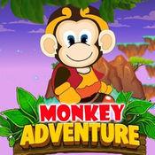 猴子捡香蕉 - 猴子跳跳