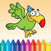 动物图画书 - 可爱绘图绘画儿童游戏 1