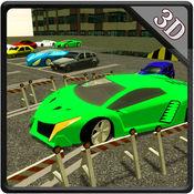 跑车多层停车场&驾驶模拟