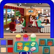 咖啡馆食物厨师疯狂 - 餐厅游戏 1