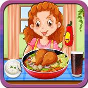 鸡karahi科尔马制造商 - 疯狂的烹饪狂热的游戏为孩子们 1