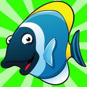 海下的游戏为孩子们拍摄的鱼