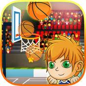 籃球反彈射擊運動