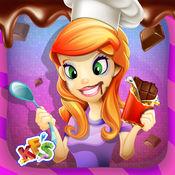 巧克力工厂 - 疯狂的甜点及糖果制造商的厨师游戏的孩子 1