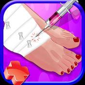 小踝医生 - 业余外科医生为游戏脚部手术 1