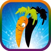 学习蔬菜与水果的形状和颜色排序 : 寓教于乐 教育游戏下载 和 好玩的活动游戏