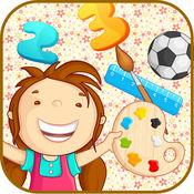 1 酷 123 数学和字母表-幼儿园孩子教育游戏 1