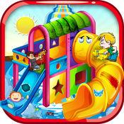 水滑梯维修 - 水上游乐园梦境