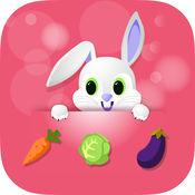 贪婪的兔子 - 跳跃和运行有趣的游戏免费 1