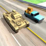 军事坦克3D赛车...