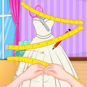 时尚美女裁缝...