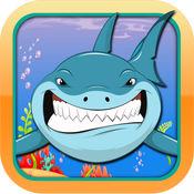 大白鲨喂食狂潮在弱鱼 免费 1