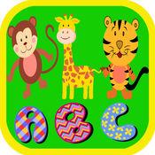 ABC孩子学习词汇动物词游戏