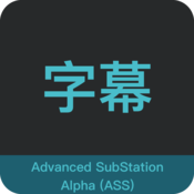 Advanced SubStation Alpha (ASS) 字幕字体快速修改工具