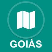 戈亚斯,巴西 : 离线GPS导航