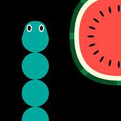 贪吃蛇食水果...