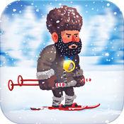 高山急速滑雪...
