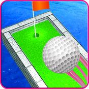 动画片 微型 高尔夫球 复古 1