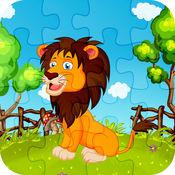 动物园动物拼图...