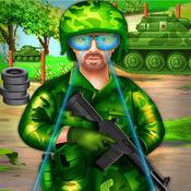 陆军突击队训练...