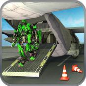 飞机机器人运输车