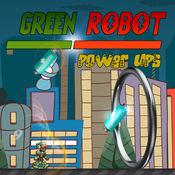 绿色机器人游骑兵力量上升