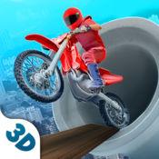 不可能的摩托车天空比赛 1