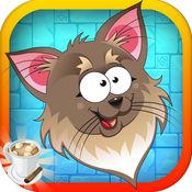 猫跳拉什 - 可爱的小鹰霍皮疯狂(免费)