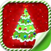 圣诞 树 壁纸 - 假日 背景 主题 1