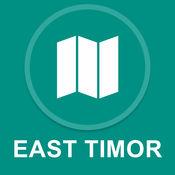 东帝汶 : 离线GPS导航 1