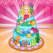 海洋蛋糕制作